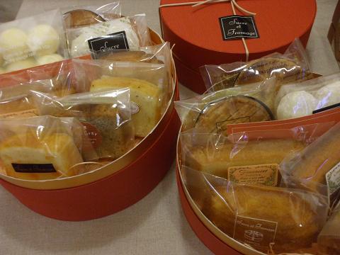焼き菓子詰め合わせ 丸箱